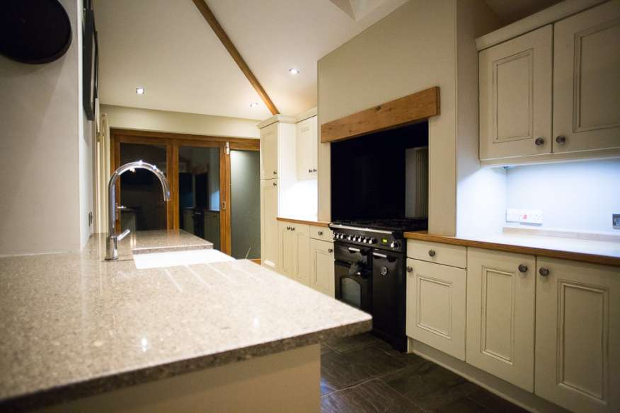 Painted Second Nature Used Kitchen Warrington North West