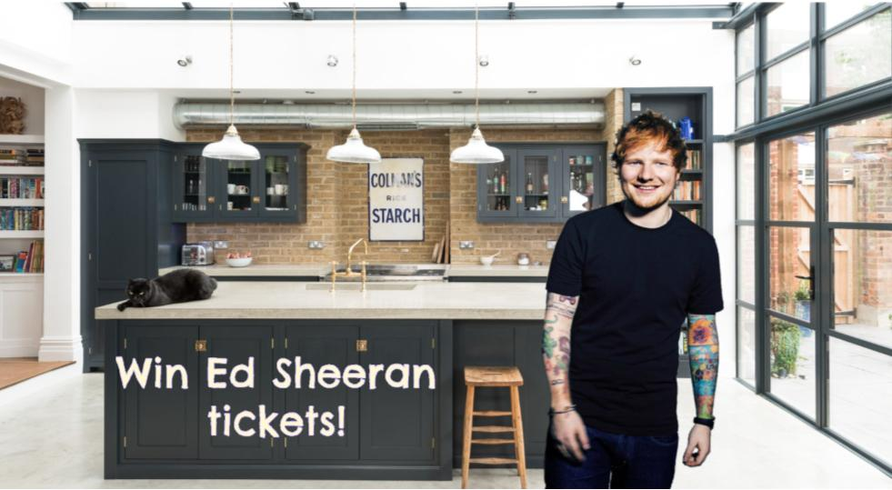 Ed sheeran why are kitchens so expensive win ed sheeran ed sheeran why are kitchens so expensive win ed sheeran tickets m4hsunfo