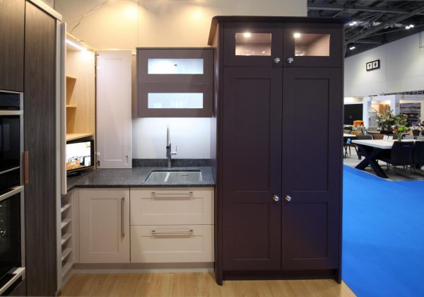 ANTHONY MULLAN Ex Display Kitchen with Larder Unit