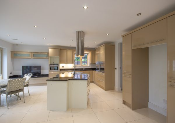 Large Modern High Gloss Used Kitchen