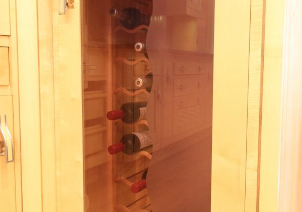 Mark Wilkinson Metro Ex Display Kitchen Wine Rack