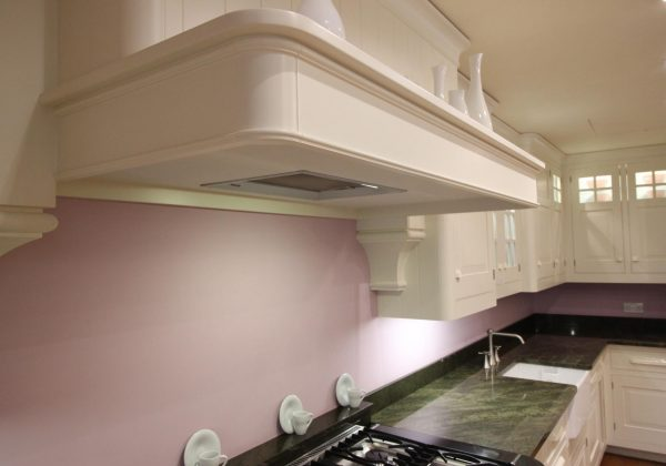 Mark Wilkinson New England Classic Ex Display Kitchen - canopy with extractor