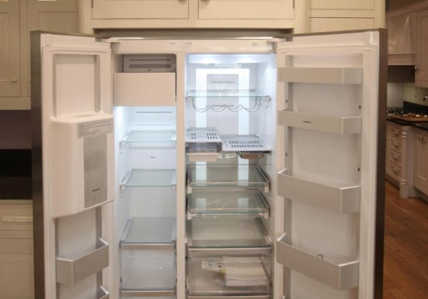 Mark Wilkinson New England Ex Display Kitchen Gaggenau Fridge Freezer