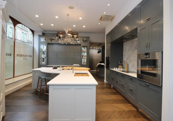 Mark Wilkinson Portabello Ex Display Kitchen with Gaggenau Appliances