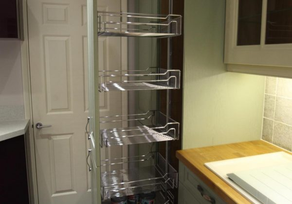 Cornell Classic Shaker Style Ex Display Kitchen Pull Out Larder