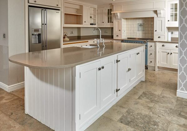Modern Country Shaker Style Used Kitchen with Island