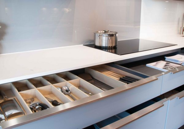 ACKER Systemat Ex Display Kitchen - Drawer Close Up