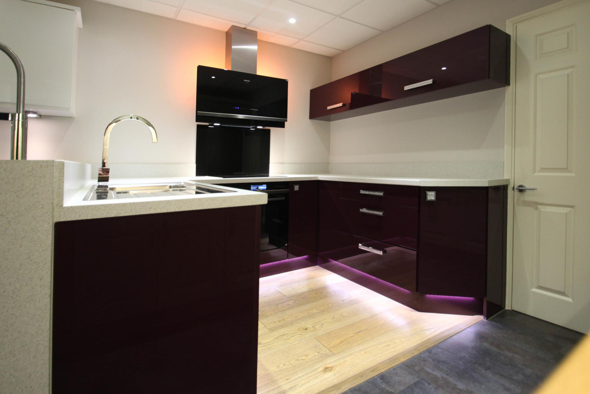 Over 50 Off Rrp 163 5129 High Gloss Aubergine Ex Display