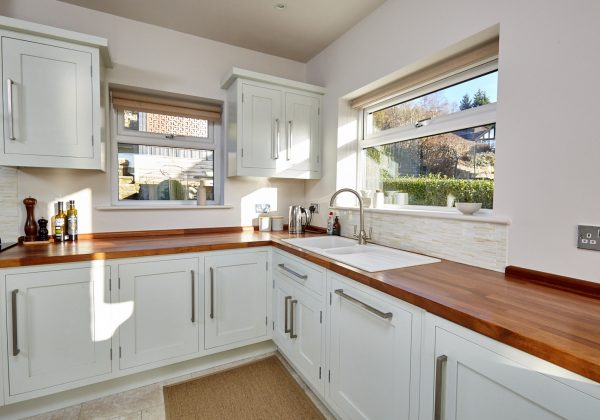Modern In Frame Shaker Style Used Kitchen Full View