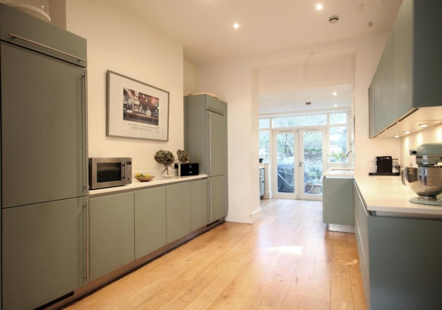 SCHULLER Next Line 125 Contemporary Used Kitchen, London