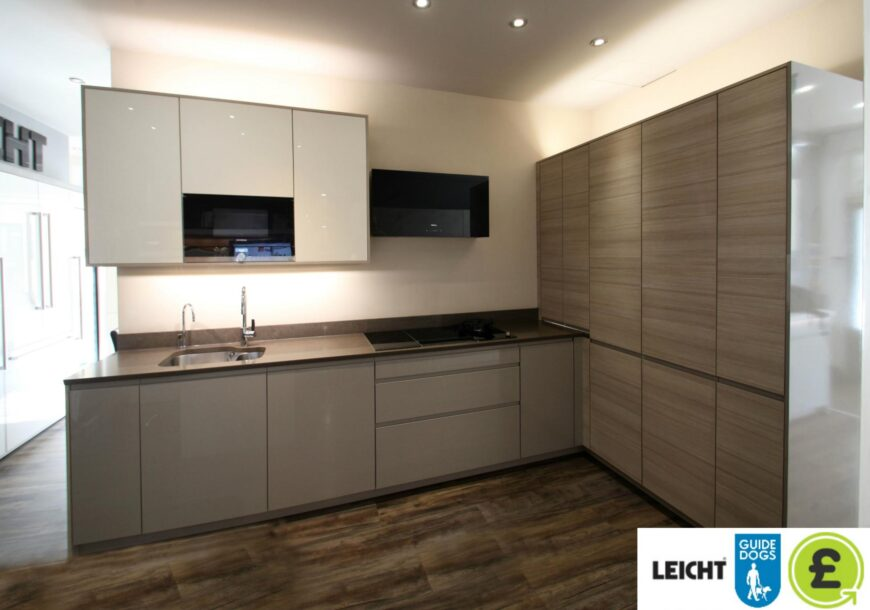 CHARITY SALE FOR GUIDE DOGS ? (83% OFF RRP £22,000+) LEICHT Modern Ex Display Kitchen, South