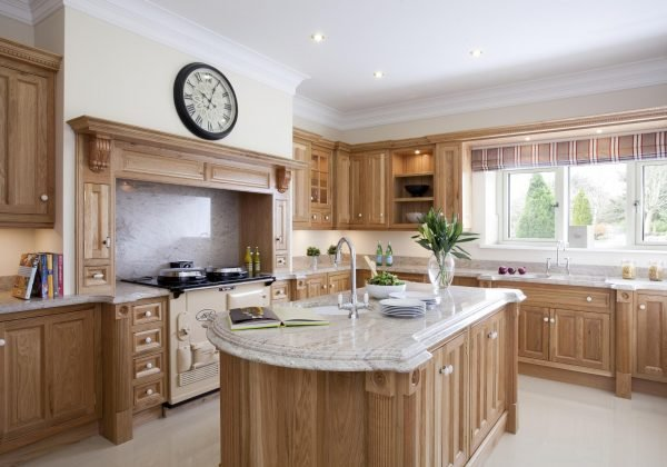 Classic White Oak Ex Display Kitchen