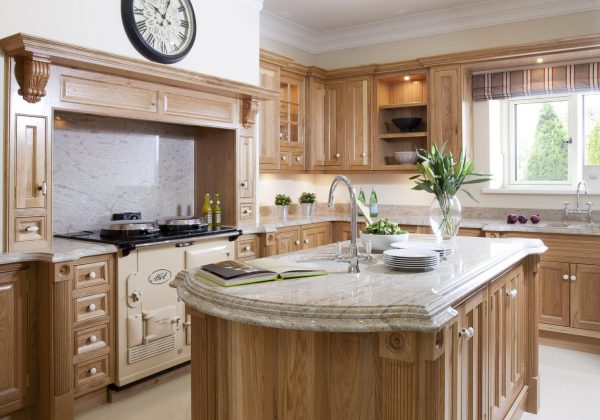 Classic White Oak Ex Display Kitchen Full View