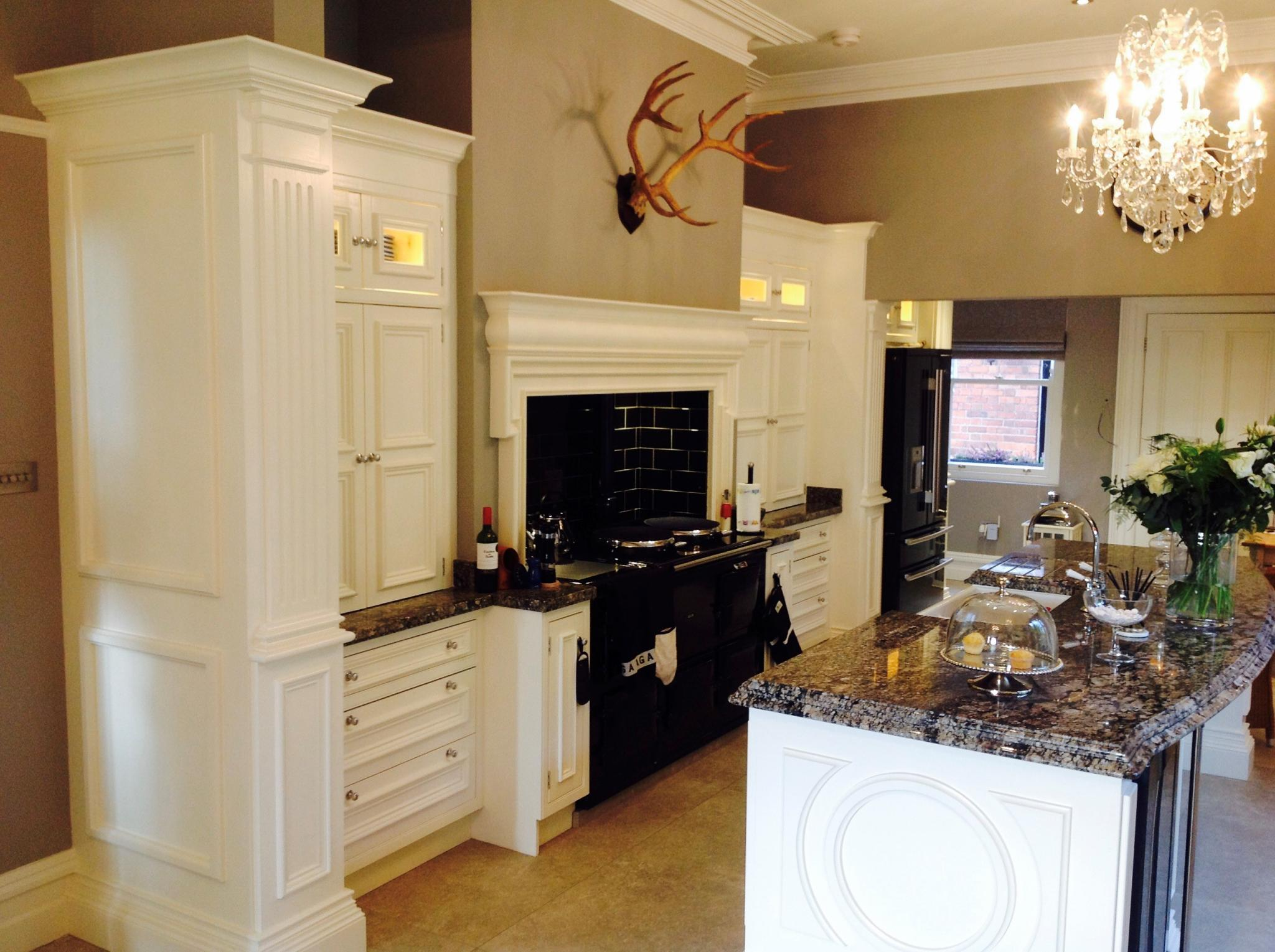 80% OFF RRP £100,000+ BRAND NEW Regency/Clive Christian Style Bespoke  Kitchen Units with Island, Ireland