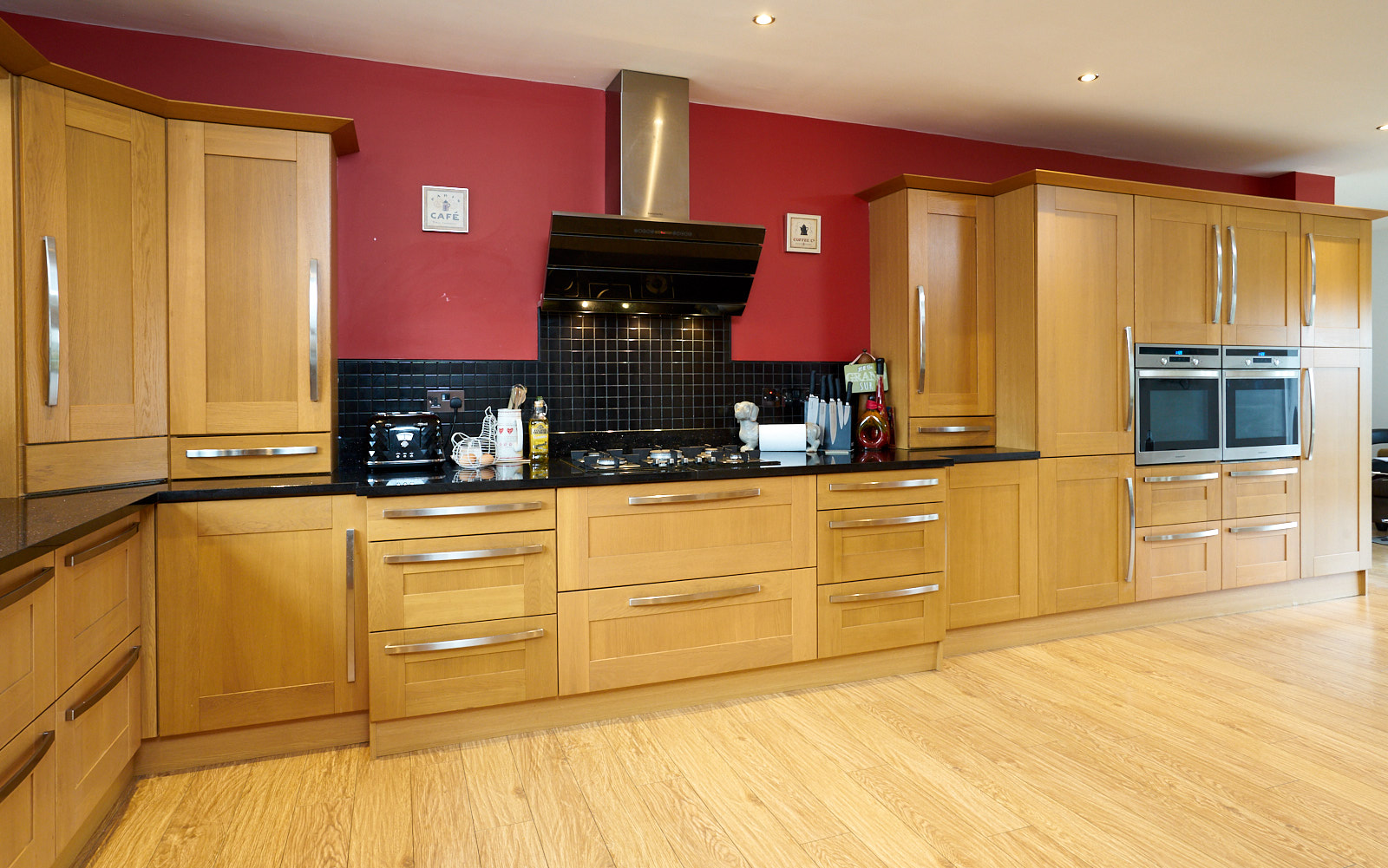 for kitchen use large shaker family used kitchen with appliances
