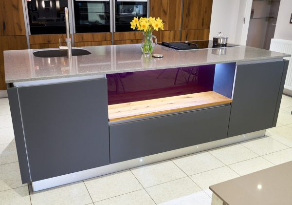 Modern Oak Ex Display Kitchen