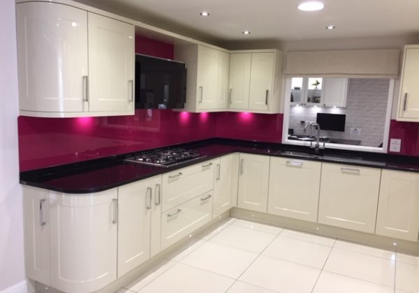 Sheraton Gloss Stone Shaker Ex Display Kitchen