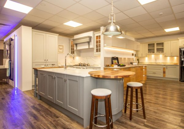 Sherbourne Painted Ex Display Kitchen Island
