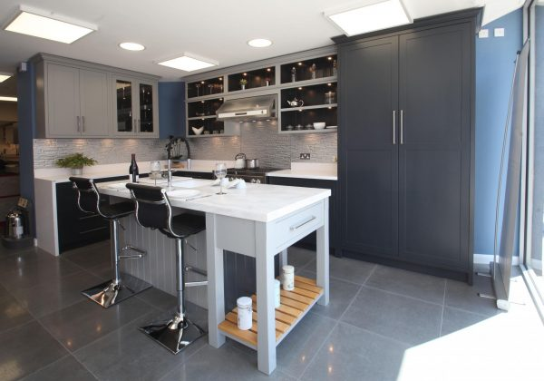 Bespoke Shaker Ex Display Kitchen with Island