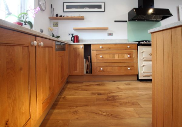Classic Shaker Used Kitchen with Island