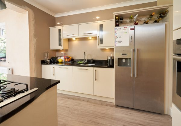 Gloss Used Kitchen with Island