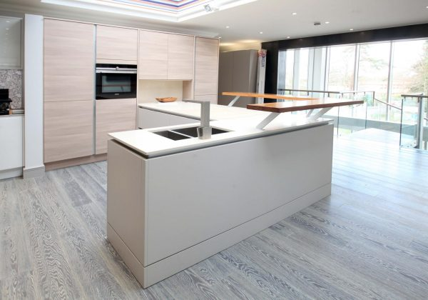 LINEAR Avola Champagne Ex Display Kitchen