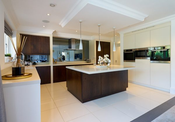 Modern Used Kitchen with Corian Worktops