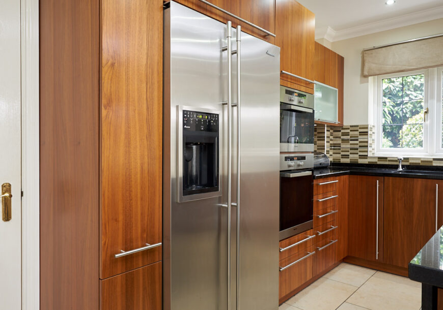 AVAILABLE NOW! Modern Used Kitchen with Island, MIELE Appliances, Granite Worktops, Liverpool