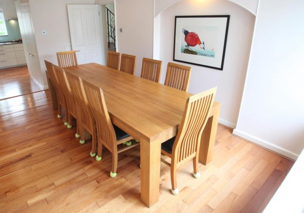 Large Used Dining Table and Chairs