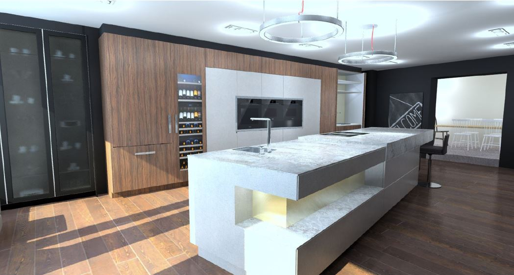INTOTO Large Ex Display Kitchen with Island