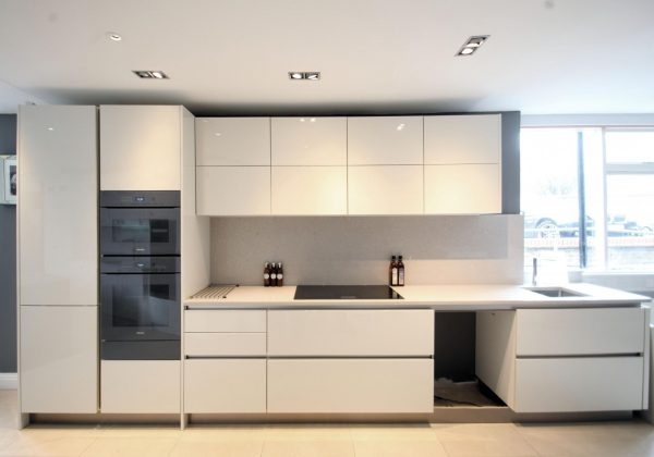 KELLER Elba High Gloss Ex Display Kitchen