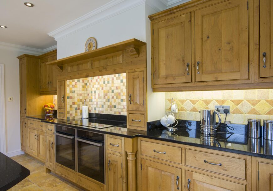 Large In Frame Pippy Oak Used Kitchen
