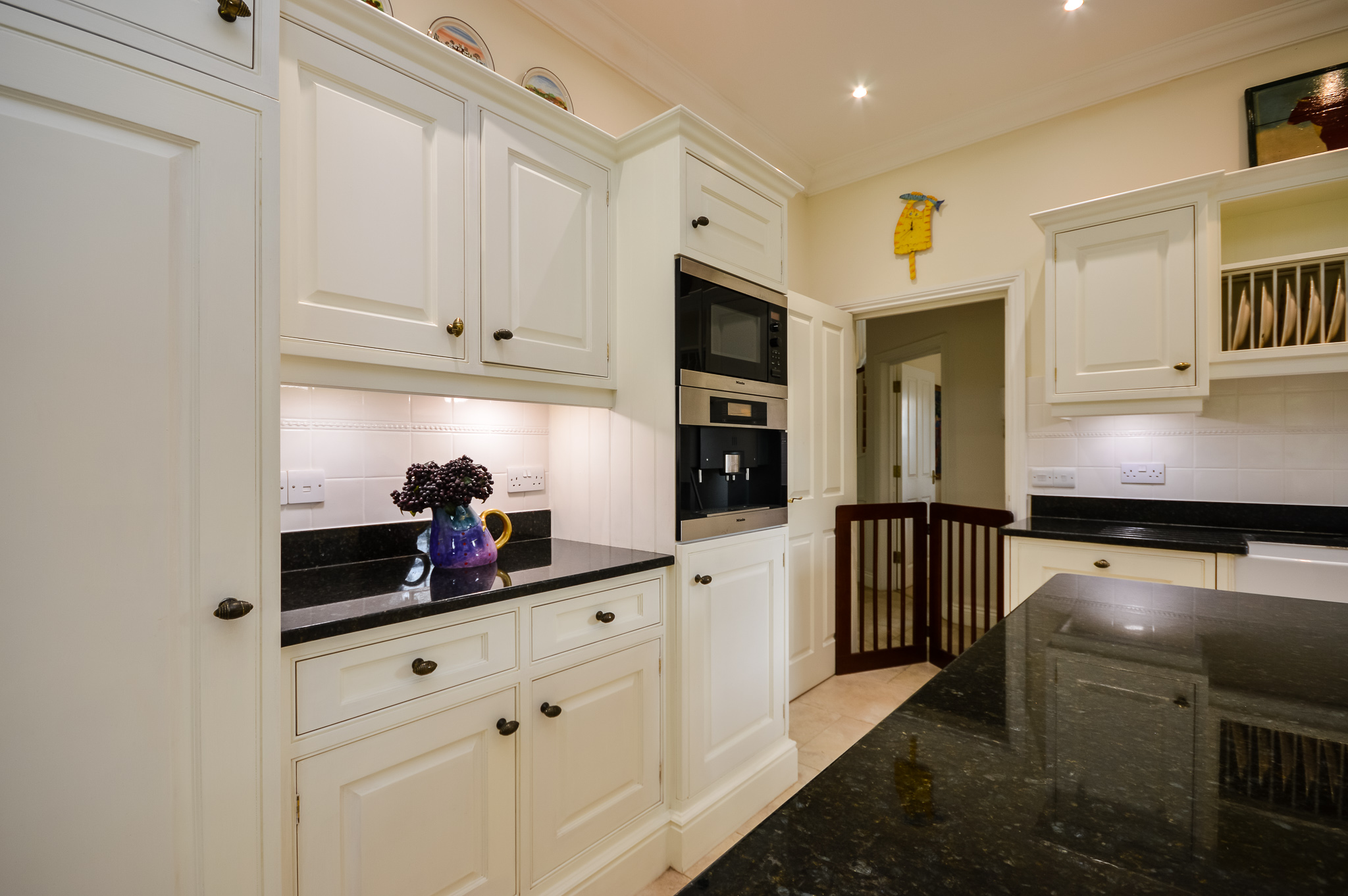 used kitchen islands large painted used kitchen with island falcon range oven gloucestershire used kitchen exchange 4887