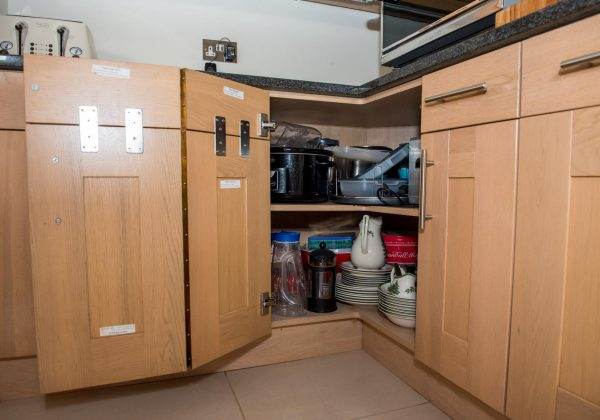 Classic Shaker Used Kitchen with Appliances