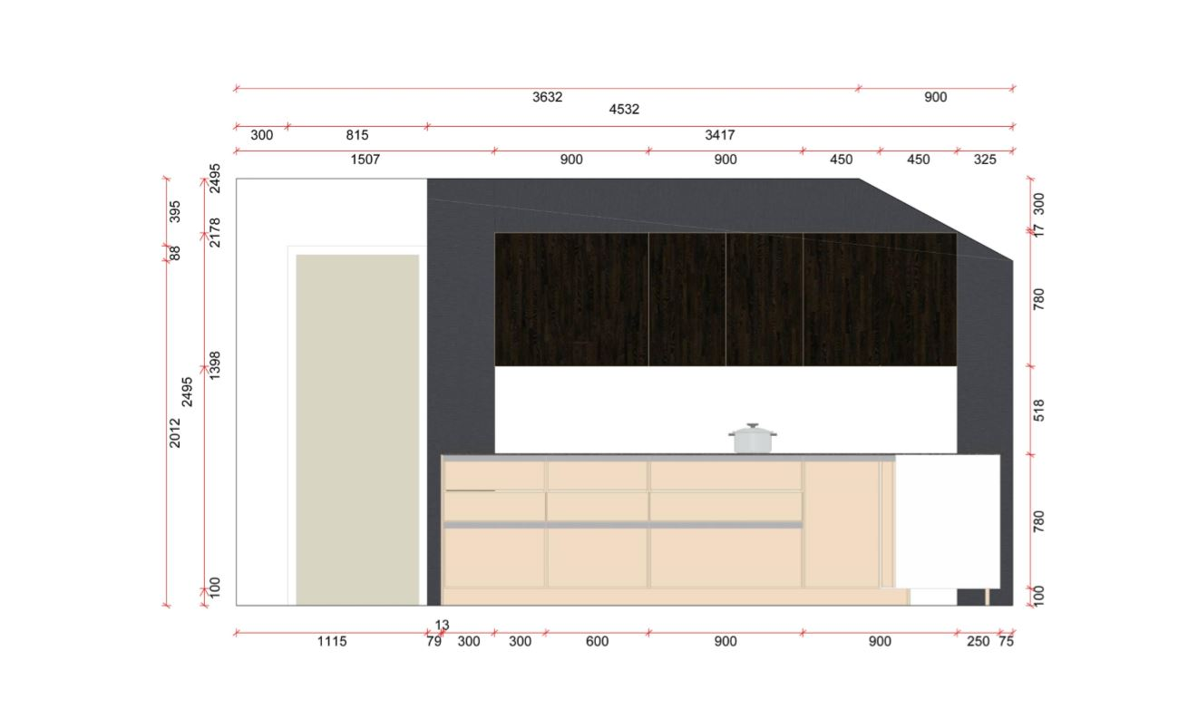 SieMatic S3 Ex Display Kitchen Plan