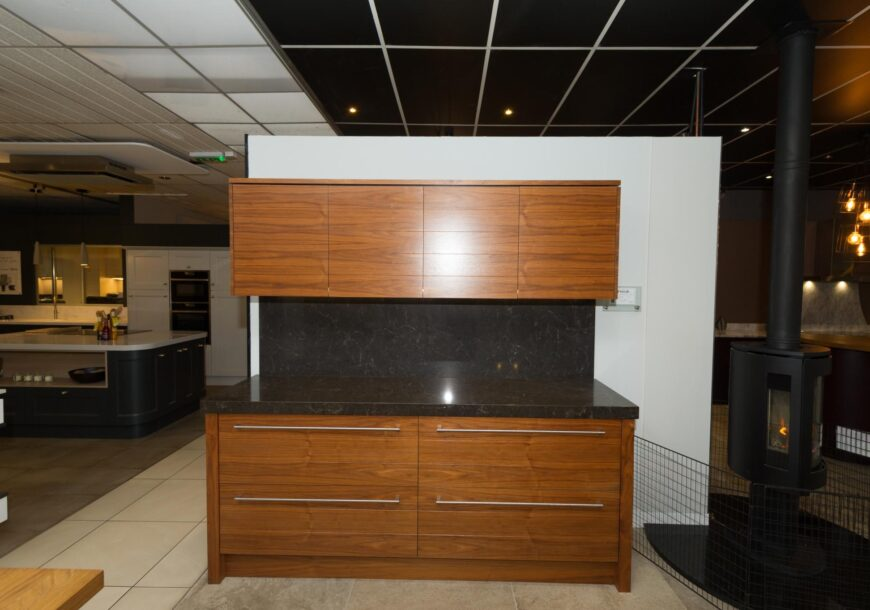 Walnut Ex Display Kitchen Run (1)