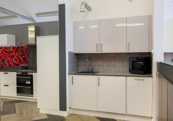 KUHLMANN High Gloss Ex Display Kitchen Run