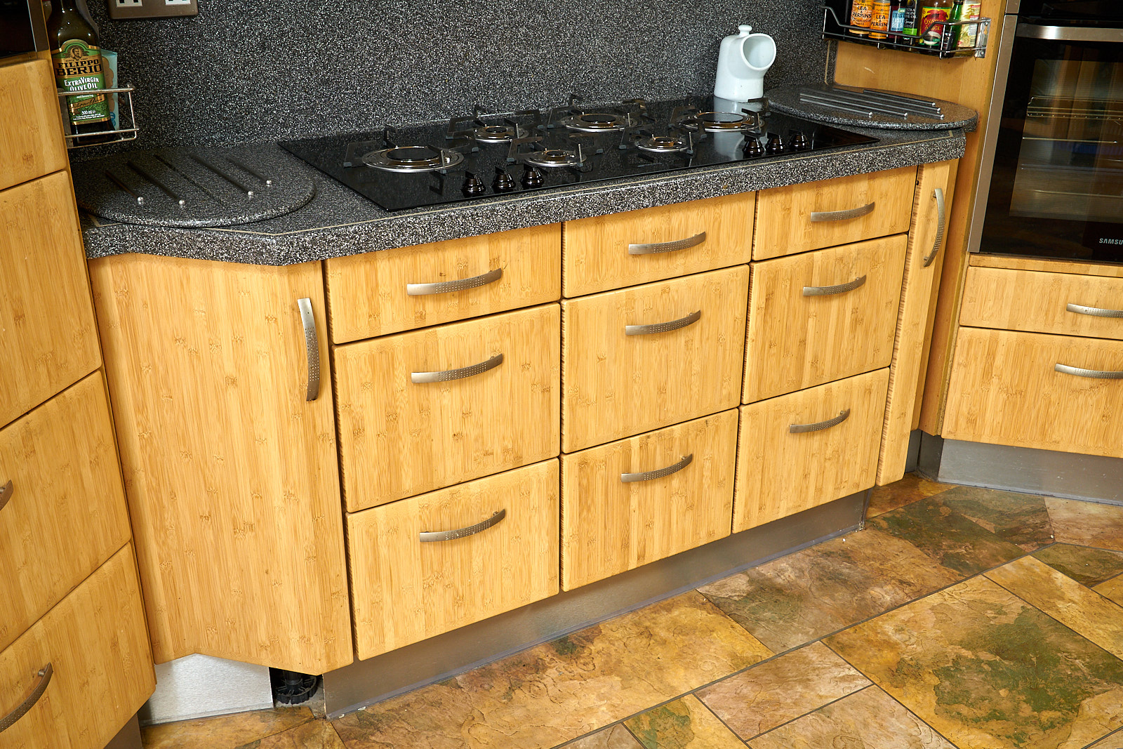 Last Chance To Buy 😄 Large German Used Kitchen Bamboo