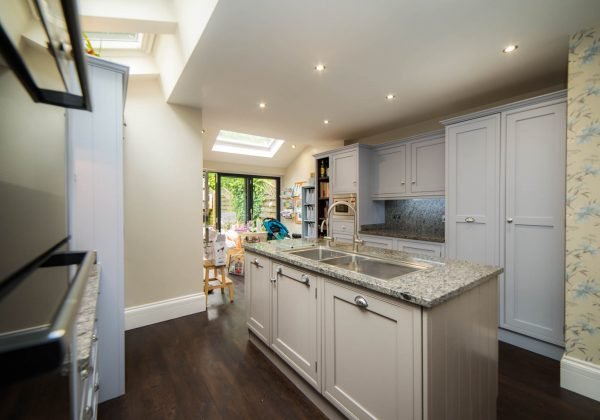 BESPOKE Painted Shaker Used Kitchen with Appliances