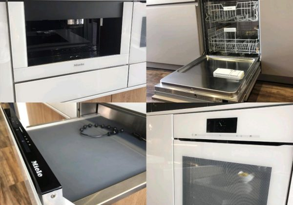 MIELE White Ex Display Appliance Pack