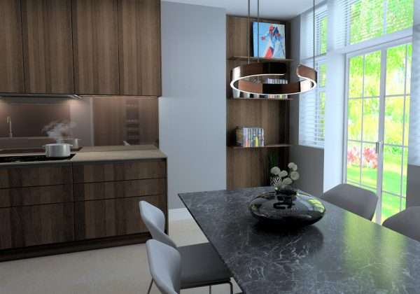 SIEMATIC Kitchen with GAGGENAU Appliances