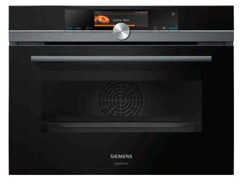 Siemens Steam Oven CS858GRB6B