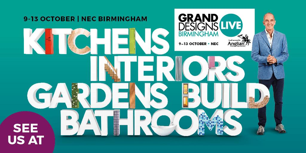 See Us At Grand Designs Live