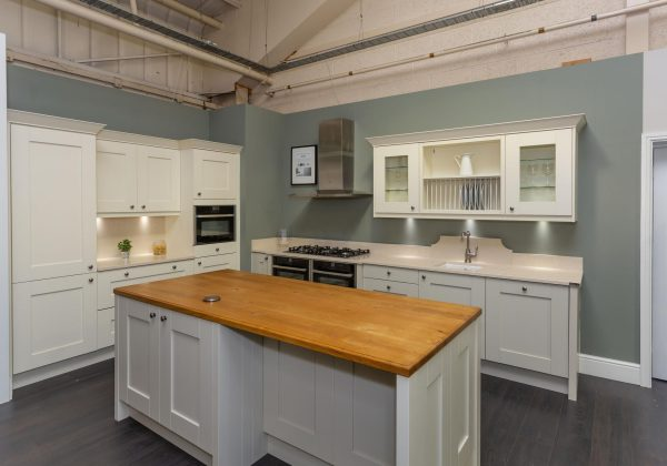 DAVAL Shaker Style Ex Display Kitchen