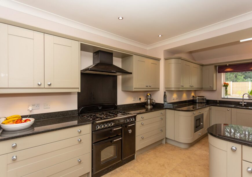 Ready Soon! LARGE Family Shaker Used Kitchen with Breakfast Bar, CAPLE Appliances, North Yorkshire