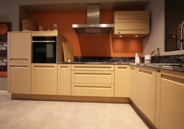Bleached Oak Ex Display Kitchen
