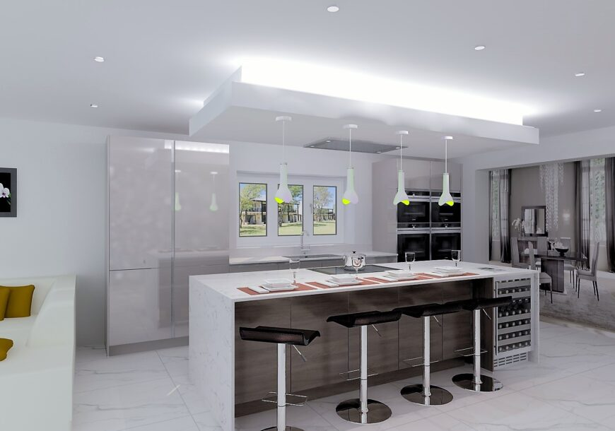 Cancelled Order: New Kitchen, NOLTE High Gloss Lava, North