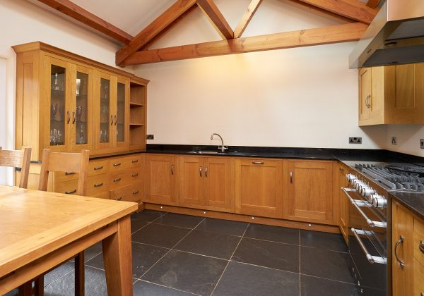 Traditional In Frame Shaker Used Kitchen