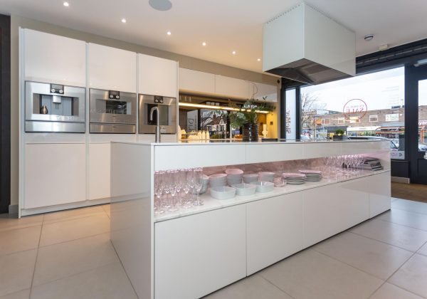 SIEMATIC Gloss Handleless Ex Display Kitchen