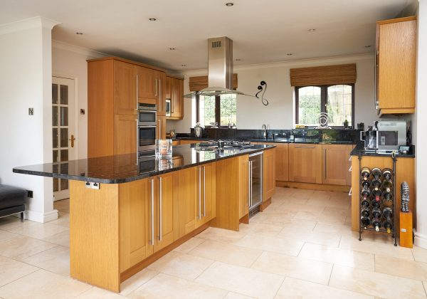 Family Shaker Used Kitchen with Granite Worktops